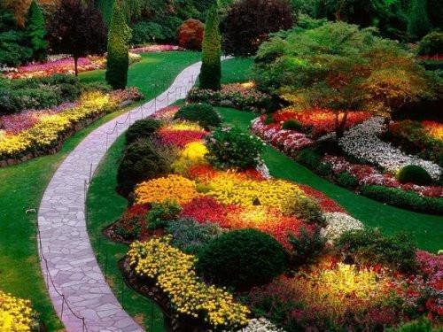 цветни градини